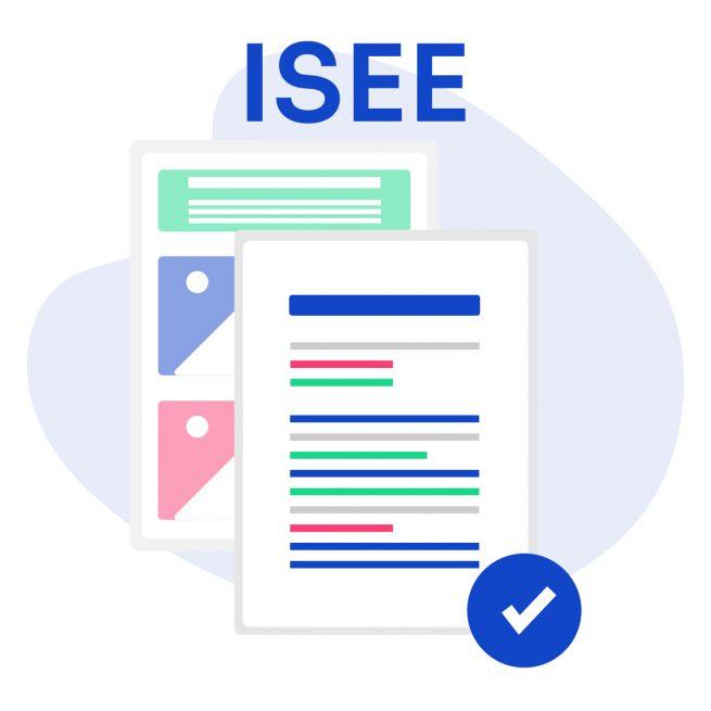 Illustrazione documenti richiesta attestazione ISEE 2021 online